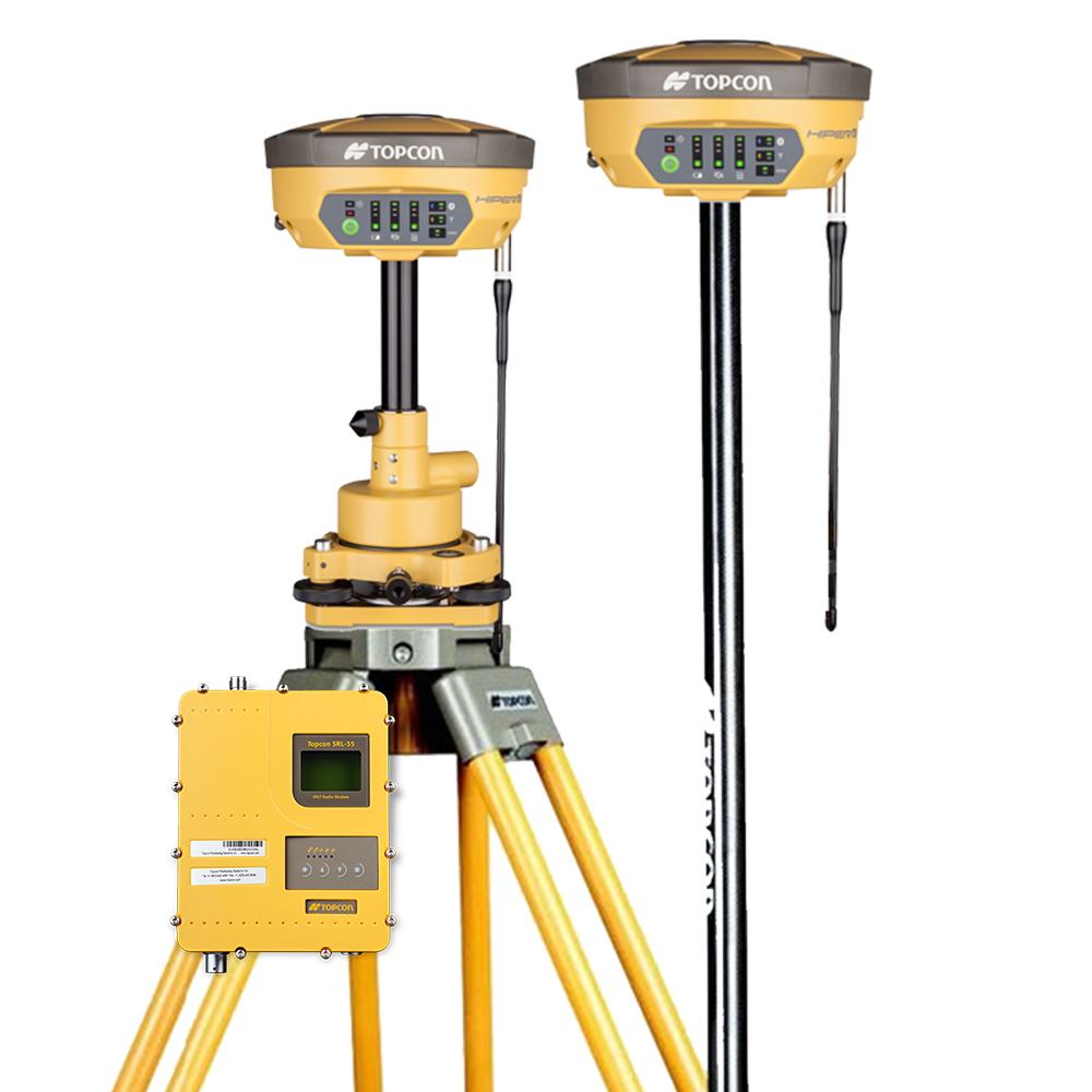 SISTEMA RTK HIPER V, GPS L1/L2  RADIO UHF – FC-236